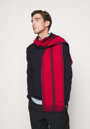 ROMUS UNISEX - Scarf - red/navy