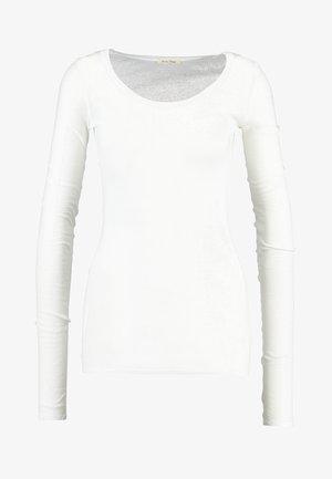 Long sleeved top - blanc