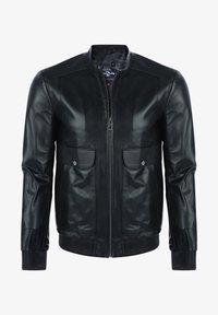 Giorgio Di Mare - Leather jacket - black - 0