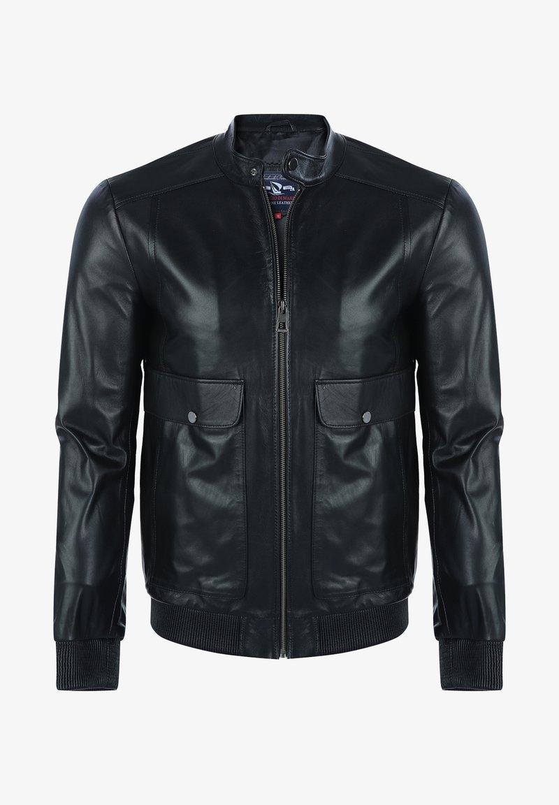 Giorgio Di Mare - Leather jacket - black