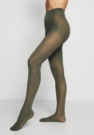 50 DEN RECYCLED 3D - Tights - dark dusty green