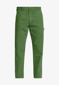 FAIRDALE - Spodnie materiałowe - dark olive