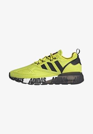 ZX 2K BOOST UNISEX - Trainers - acid yellow/core black/footwear white