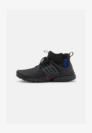 AIR PRESTO MID UTILITY - High-top trainers - black/team red/anthracite/racer blue