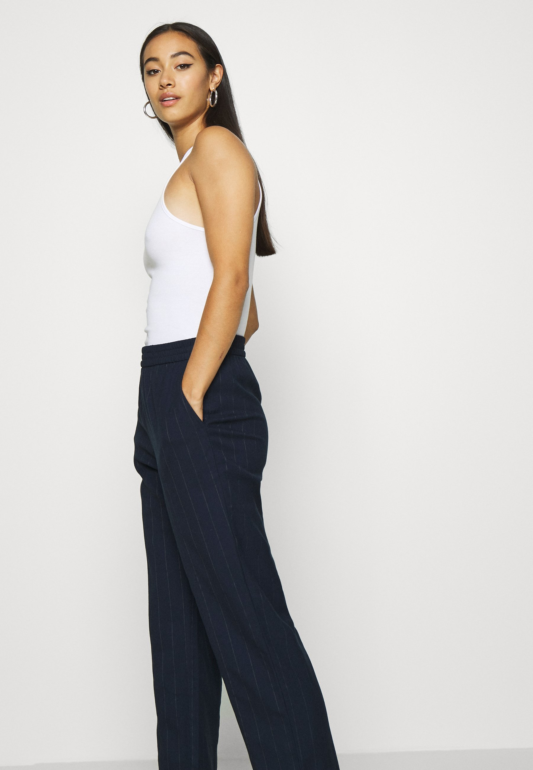 SAMI TROUSERS Bukse blue