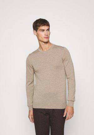 LYLE CREW NECK - Pullover - sand beige