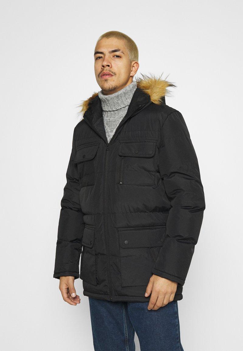 Brave Soul - EVEREST - Winter coat - black
