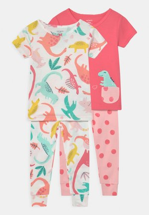 DINO 2 PACK - Pyjamas - pink/multi-coloured