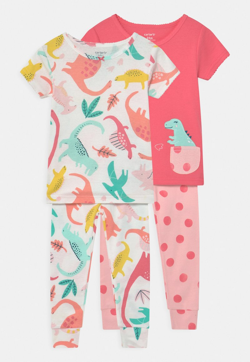 Carter's - DINO 2 PACK - Pyjamas - pink/multi-coloured