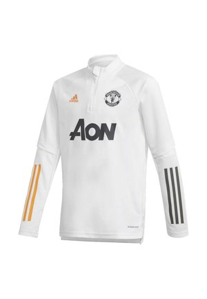 MANCHESTER UNITED TRAINING TOP - Club wear - white