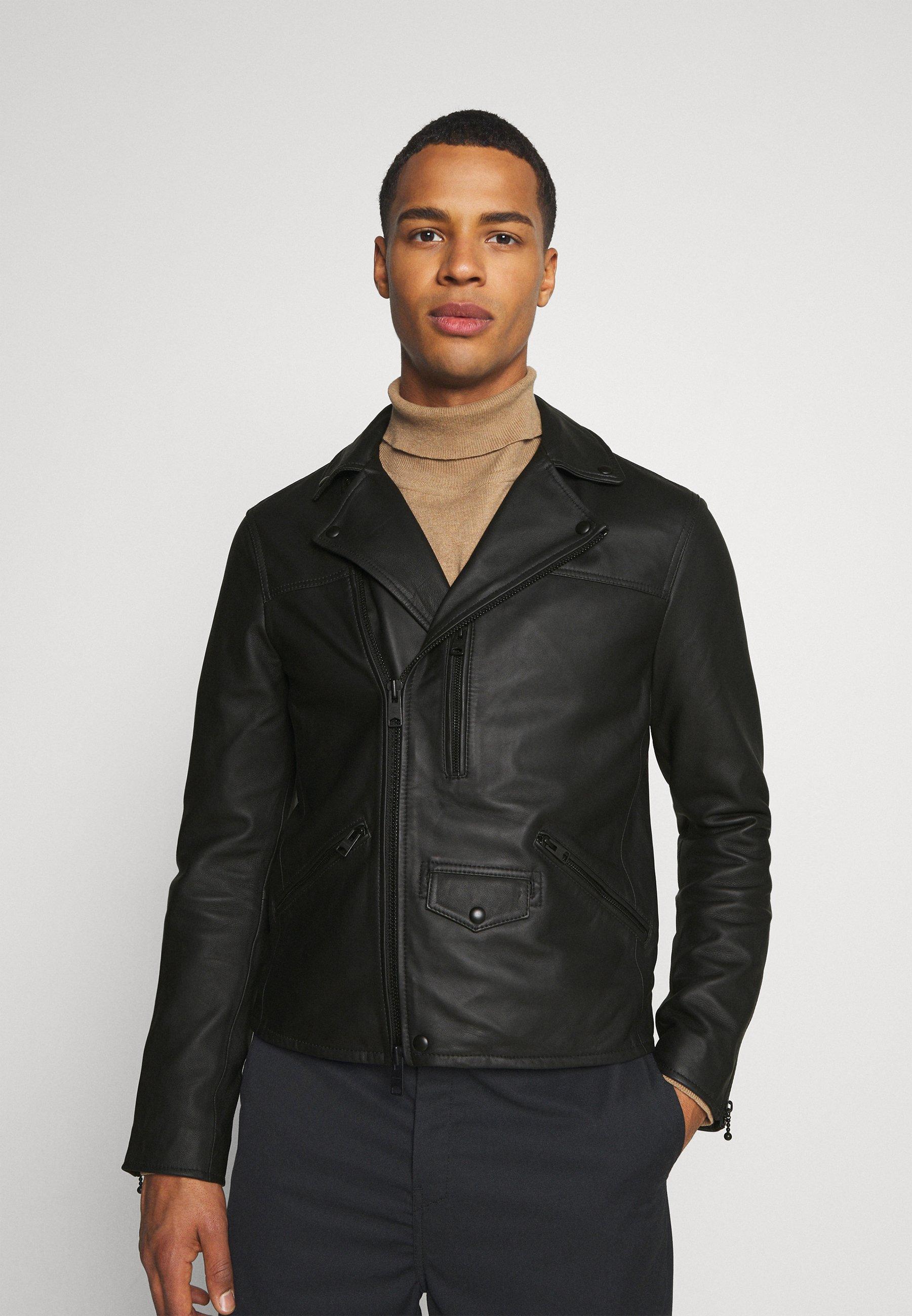Men ROSO BIKER - Leather jacket