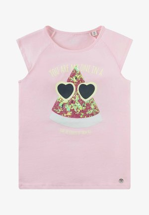 T-shirt print - cherry blossom|rose