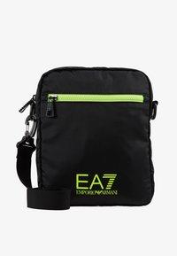 EA7 Emporio Armani - Bandolera - black / neon / yellow - 6