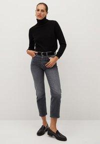 Mango - PREMIUM - Jeans straight leg - open grey - 1