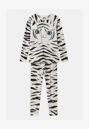 LINNI SET - Pyjama set - black/white