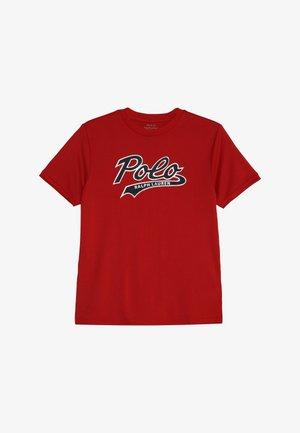 PERFORMANCE  - Print T-shirt - red