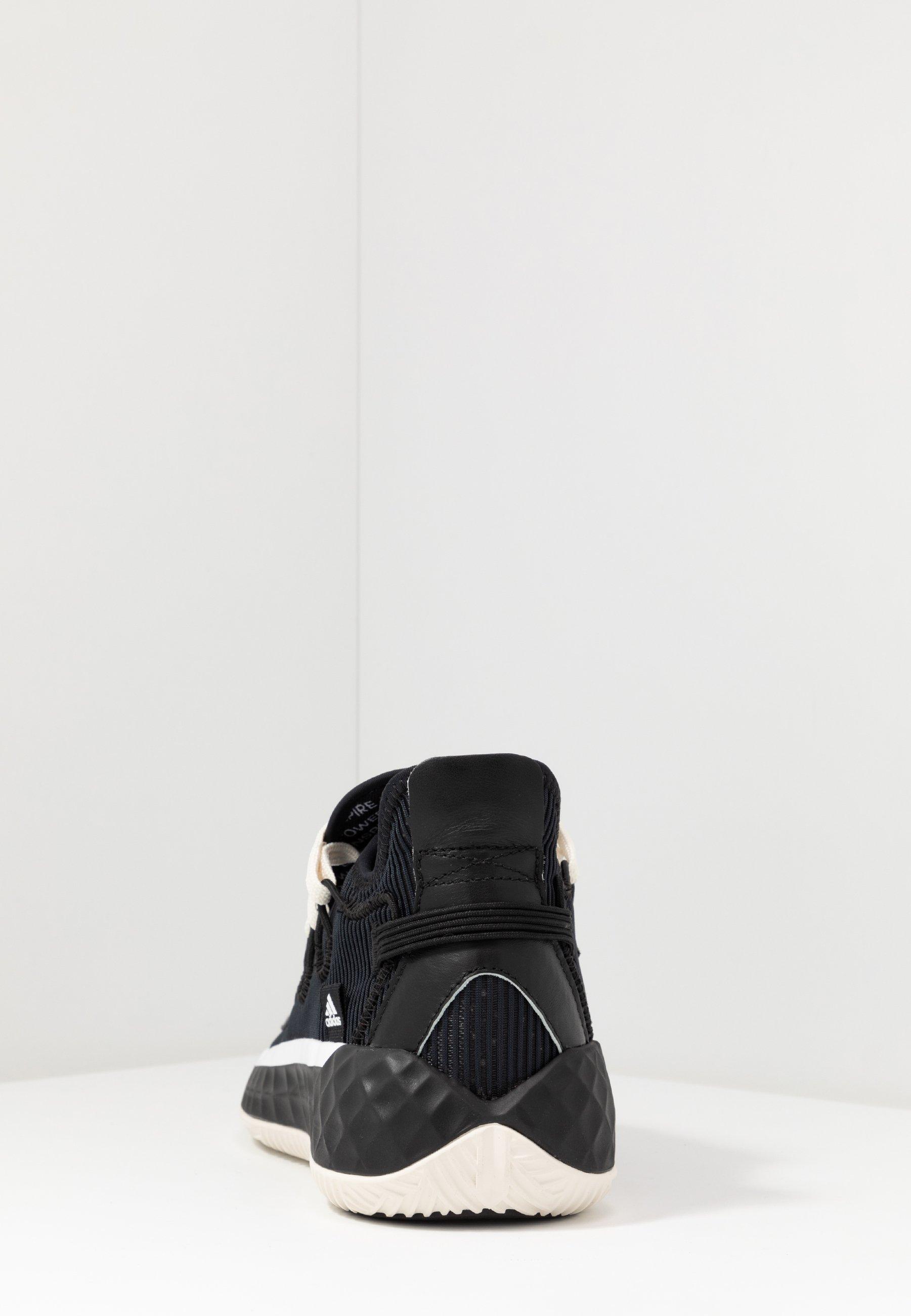 adidas Performance COLL3CTIV3 2020 LOW - Basketballsko - core black/footwear white