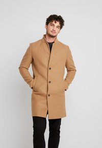 TOM TAILOR DENIM - Classic coat - hay beige/brown - 0