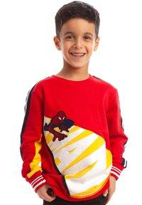 Fabric Flavours - MARVEL SPIDER-MAN CRAWL SWEATSHIRT - Sweatshirt - red - 0