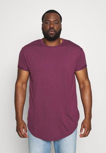 SCOTTY  3 PACK - T-shirt - bas - white/dark blue/burgundy