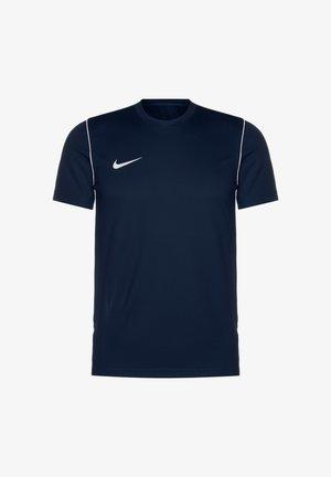 Basic T-shirt - obsidian / white