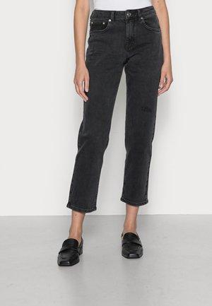 KATE STRAIGHT - Straight leg jeans - black denim