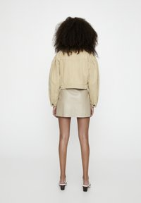 PULL&BEAR - Faux leather jacket - camel - 2