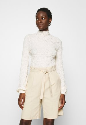 CALISTA - Long sleeved top - french nougat