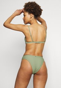 Seafolly - ESSENTIALS BRALETTE AND ESSENTIALS HIGH RISE - Bikini - khaki - 2