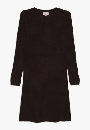 KONANA DRESS - Jumper dress - bitter chocolate/melange