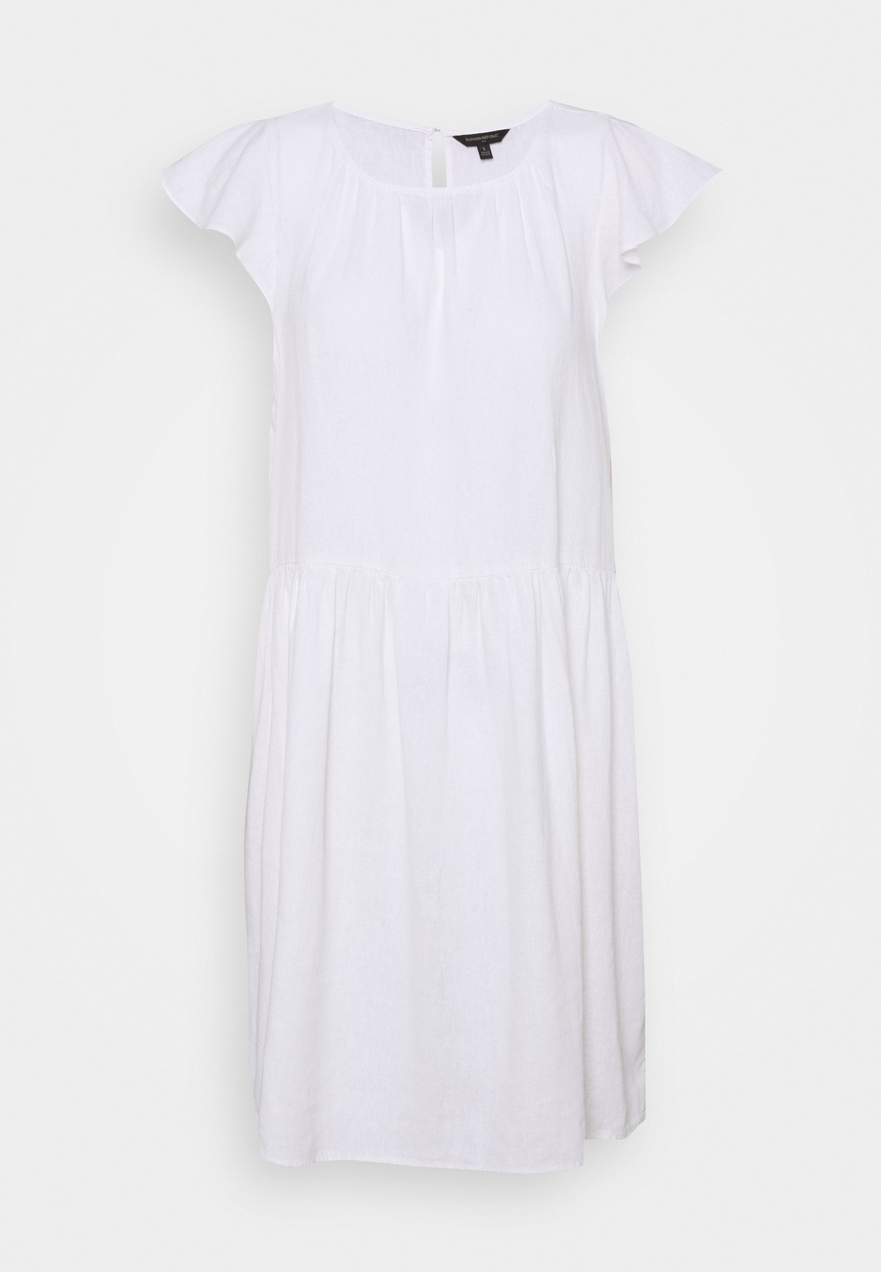 Women FLUTTER SLEEVE SHIFT DRESS - Day dress