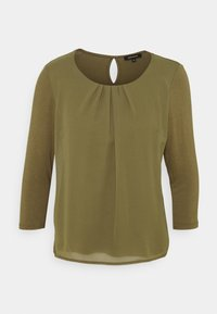 PATCHED - Long sleeved top - khaki