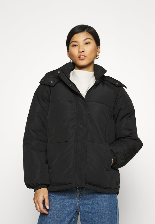 FILINA HOOD JACKET - Jas - black