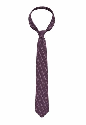 Tie - dark purple