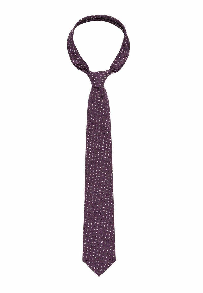 BOSS - Tie - dark purple