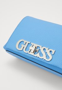 Guess - UPTOWN CHIC MINI XBODY FLAP - Across body bag - electric blue - 2
