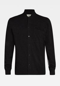 G-Star - BASEBALL  ZIP POCKET - Overhemd - dk black - 3