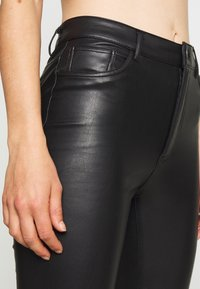 ONLY - ONLEMILY PANT - Trousers - black - 3