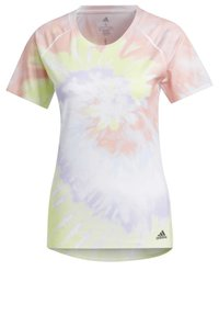 adidas Performance - RISE UP 'N RUN SANTA MONICA T-SHIRT - Print T-shirt - red - 12