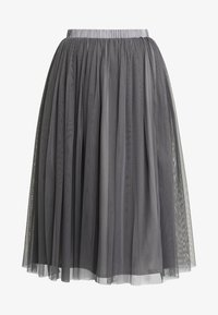 Lace & Beads - VAL SKIRT - A-Linien-Rock - charcoal - 4