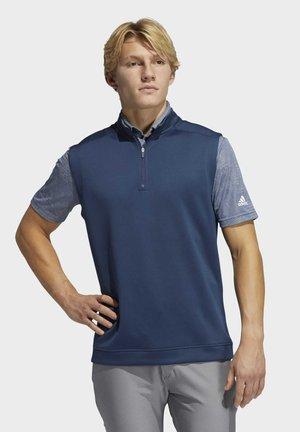 CLUB QUARTER-ZIP WESTE - Sweatshirt - blue