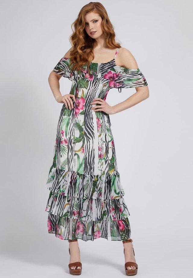 Sukienka letnia - gemustert multicolor