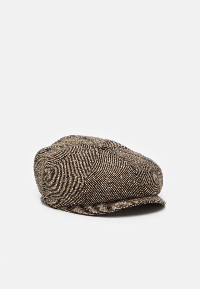 LINDEN FLATCAP BAKERBOY - Hattu - brown