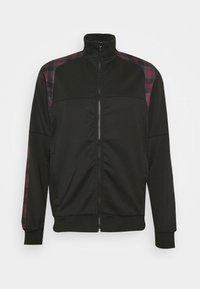 Night Addict - Zip-up hoodie - black/ red - 3