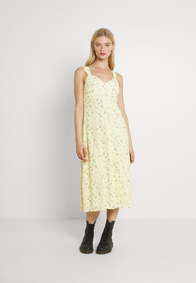 FRANKIE BUTTON THROUGH SUN DRESS - Day dress - lemonade ditsy