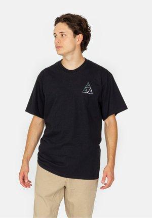 HOLOSHINE FOIL TT - T-shirt imprimé - black