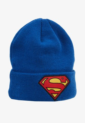 KIDS CHARACTER CUFF SUPERMAN  - Bonnet - blue