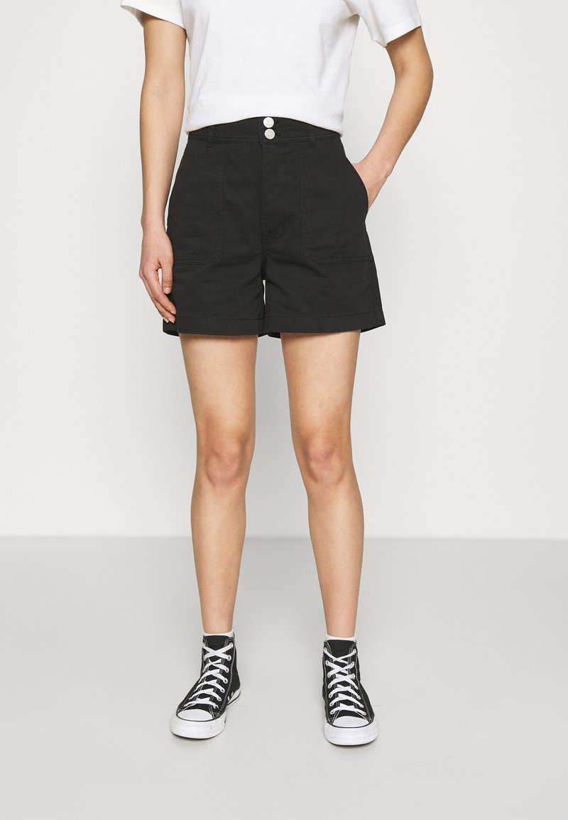 Tommy Jeans - HARPER HIGH RISE - Shorts - black