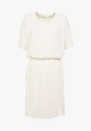 PLEATED DRESS - Cocktail dress / Party dress - off-white