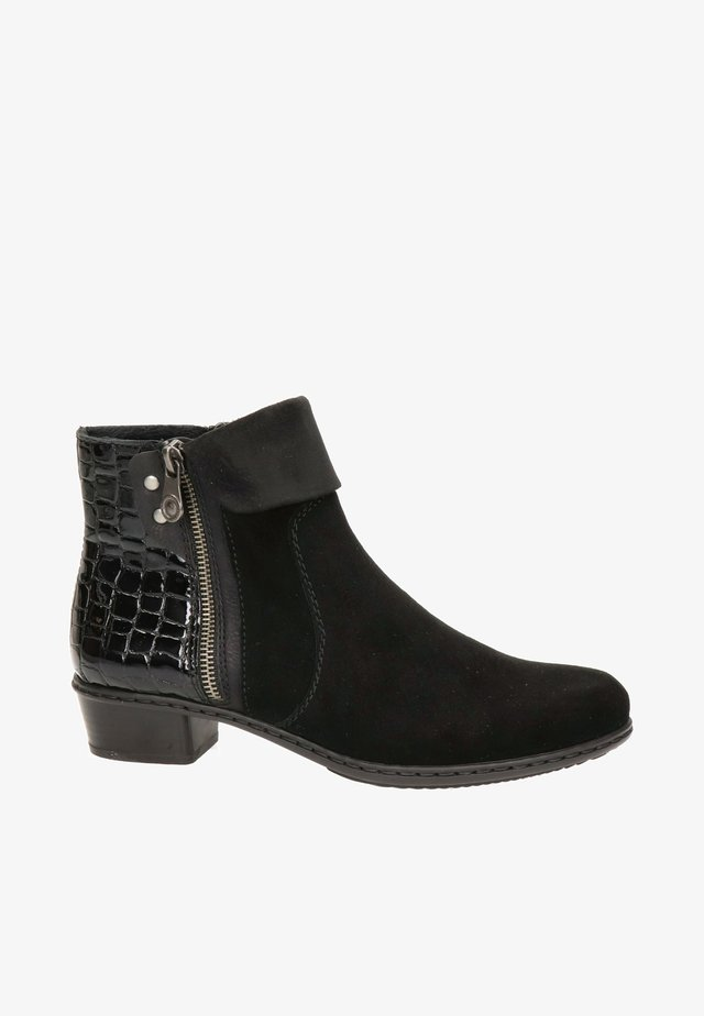 Boots à talons - zwart